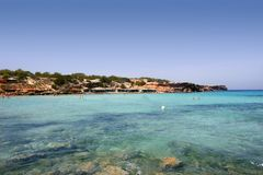 Formentera Mediterranean seascape turquoise sea Stock Photo