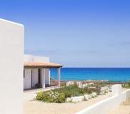 Formentera north escalo es calo aqua Mediterranean Royalty Free Stock Image