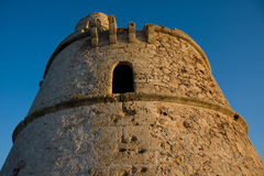 Formentera Old Defense Tower Stock Photo