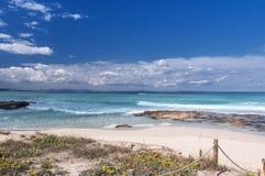 Formentera plaża Zdjęcie Royalty Free