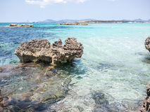 Formentera Rocks Stock Photography