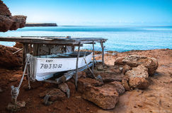 Formentera, Spanje stock afbeeldingen