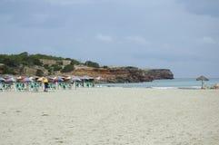 Formentera-Strand Stockbild