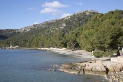 Formentor Beach; Majorca. In Spain Royalty Free Stock Photo