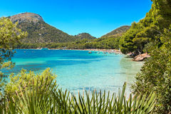 Formentor beach Royalty Free Stock Image