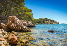 Formentor beach Stock Images