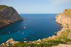 Formentor cape Stock Images