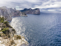 Formentor Cape in majorca Royalty Free Stock Images