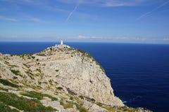 Formentor fyr, Mallorca Royaltyfri Foto