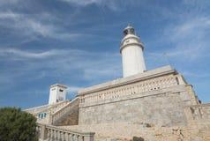 Formentor-Leuchtturm Stockbild