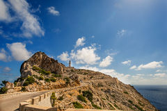 Formentor Lighthouse in Majorca Royalty Free Stock Photos