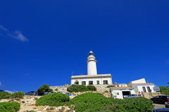 Formentor Lighthouse in Majorca Stock Image