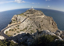 formentor lighthouse in majorca Royalty Free Stock Images