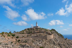 Formentor Lighthouse in Mallorca. Spain Royalty Free Stock Photos