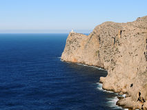 Formentor Lighthouse, Mallorca Island Stock Image