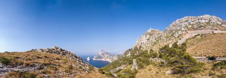 Formentor, Mallorca spain. Stock Photos