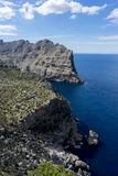 Formentor by the Mediterranean sea on the island of Ibiza in Spa Stock Photos