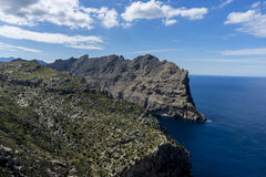 Formentor by the Mediterranean sea on the island of Ibiza in Spa Stock Images