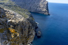 Formentor by the Mediterranean sea on the island of Ibiza in Spa Stock Photo