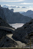 Formentor by the Mediterranean sea on the island of Ibiza in Spa Royalty Free Stock Photos