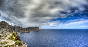 Formentor in Palma de Mallorca Stock Photography
