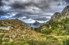 Formentor in Palma de Mallorca Royalty Free Stock Photos