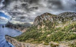 Formentor in Palma de Mallorca Royalty Free Stock Photography