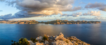 Formentor peninsula and island Royalty Free Stock Photography