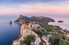Formentor peninsula Stock Photography