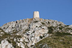 Formentor Tower in Mallorca Stock Photo