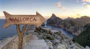 Formentor udde i majorca Arkivbild