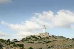 Formentor udde, Majorca Spanien arkivbild