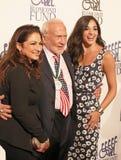 Former Astronaut Buzz Aldrin with Gloria Estefan and Ana Villafane Royalty Free Stock Photo