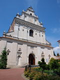 St Agnes Church, Lublin, Poland. Former Augustinian Church of St Agnes, Lublin, Poland Stock Image