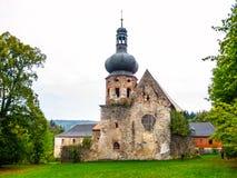 Former Augustinian Monastery in Pivon Stock Photos