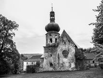 Former Augustinian Monastery in Pivon Royalty Free Stock Image