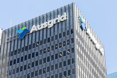 The former Ausgrid tower in the Sydney CBD. Used to be housing one of the most important energy supplier in Australia Royalty Free Stock Photography