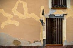 Former av staden för abstrakta fonder Arkivbild