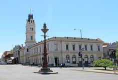 The former Ballarat Post Office (1863) built in Italianate Palazzo style is now part of Federation University's Arts Academy. BALLARAT, VICTORIA, AUSTRALIA stock images
