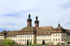 Former Benedictine monastery, Germany Royalty Free Stock Photography