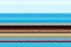 former Blå guld- beige fosforescerande abstrakt bakgrund, design Arkivbilder