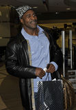 Former boxing champion Evander Holyfield at LAX Stock Photography