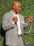 Former boxing champion Mike Tyson attends US Open 2016 opening ceremony at USTA Billie Jean King National Tennis Center Stock Image