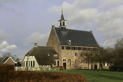 Former brewery and monastery. This is Windesheim church formerly know as the brewery building of the Windesheim Monastery Royalty Free Stock Photo