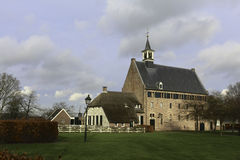 Former brewery and monastery. This is Windesheim church formerly know as the brewery building of the Windesheim Monastery Stock Photography