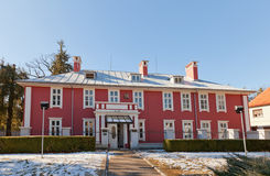 Former British embassy (1912) in Cetinje, Montenegro Royalty Free Stock Photography