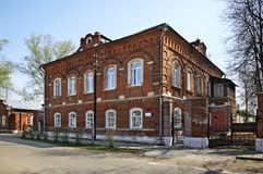 Former building of girl school in Kalyazin Russia Royalty Free Stock Photos