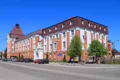 The former building of the government of Gumbinnen built in 1911 Royalty Free Stock Photo