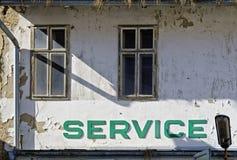Former car service station Stock Photos