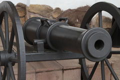 Former cast cannon. Stock Images